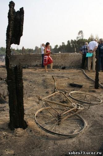 Пожар в Вязовке